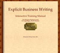 Business writing class