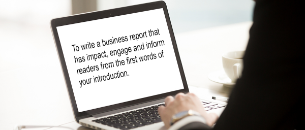 Business Report Writing Course